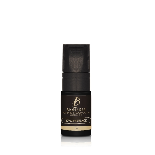 eyeline Biomaser super black pigment ink for Permanent Makeup Micropigmentation Machine Pigment  12ml